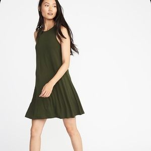 3/$15🌿 EUC Jersey knit swing dress from Old Navy